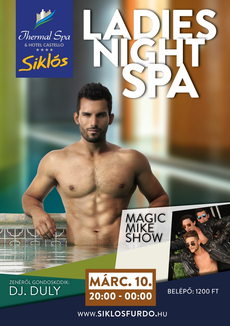 Fergeteges nőnapi buli a siklósi fürdőben: Ladies Night Spa